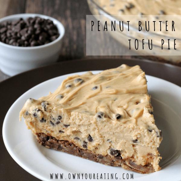Peanut Butter Tofu Pie [Recipe]