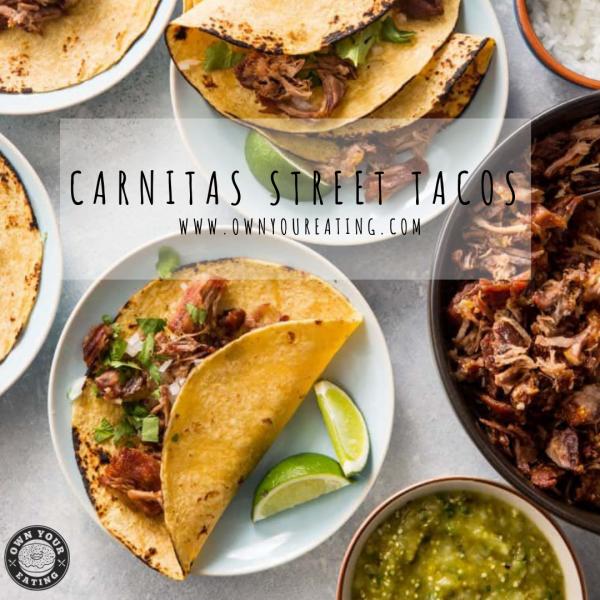 Carnitas Street Tacos [Recipe]