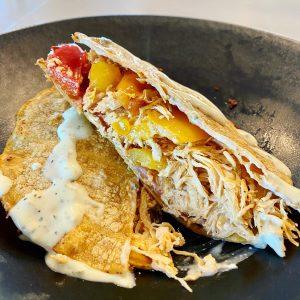 Healthy Chicken Quesadilla
