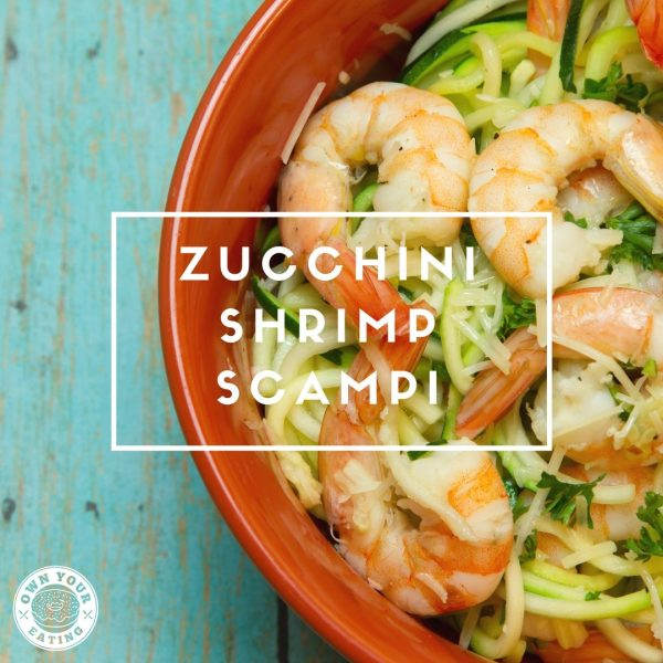 Zucchini Shrimp Scampi [Recipe]