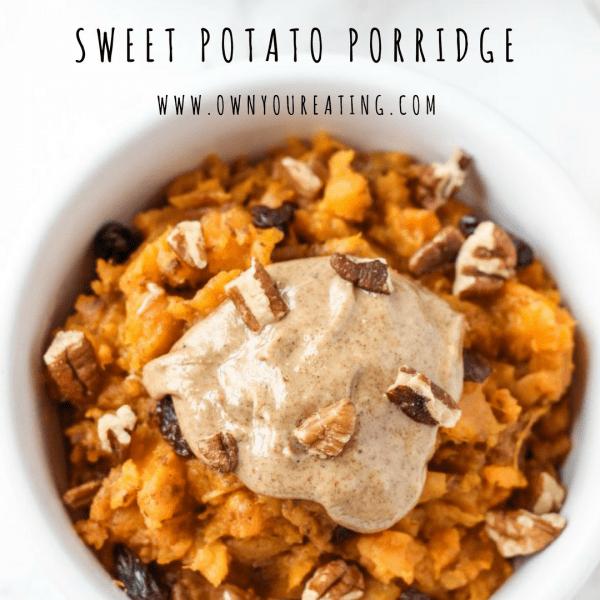 Sweet Potato Porridge [Recipe]