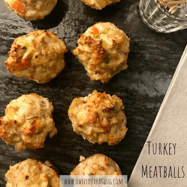 Turkey Meatballs [Recipe]