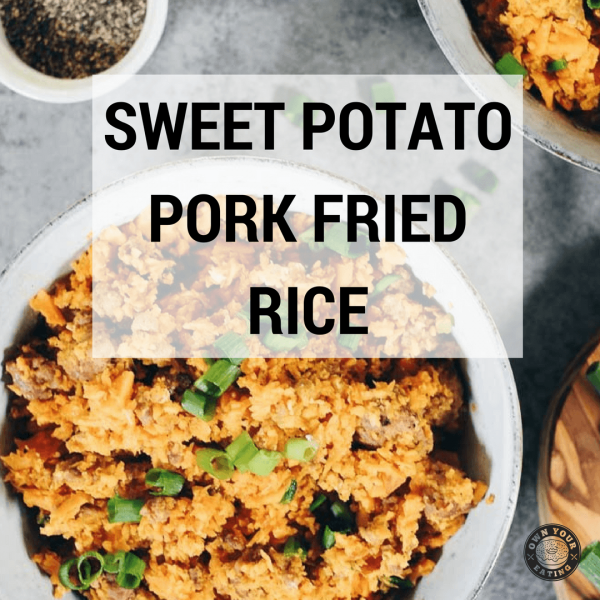 Sweet Potato Pork Fried Rice [Recipe]