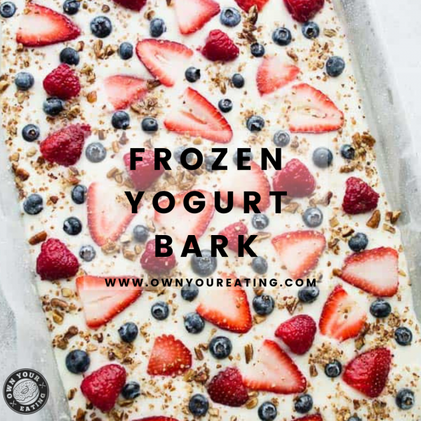 Frozen Yogurt Bark with Chocolate Chips [Recipe]