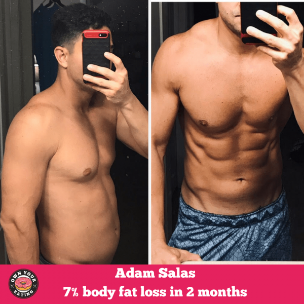 How to Lose Body Fat & Gain Muscle – Transformation