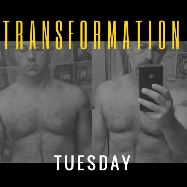 Transformation Tuesday – Charles Arcario