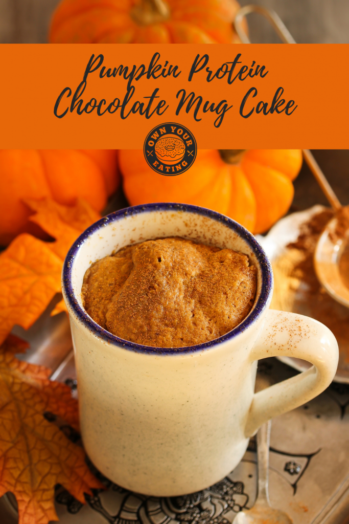 Pumpkin Protein Chocolate mug cake (pinterest)