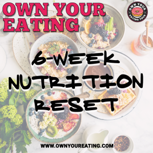 6-week nutrition reset product image